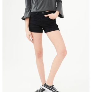 Aeropostale high waisted midi shorts